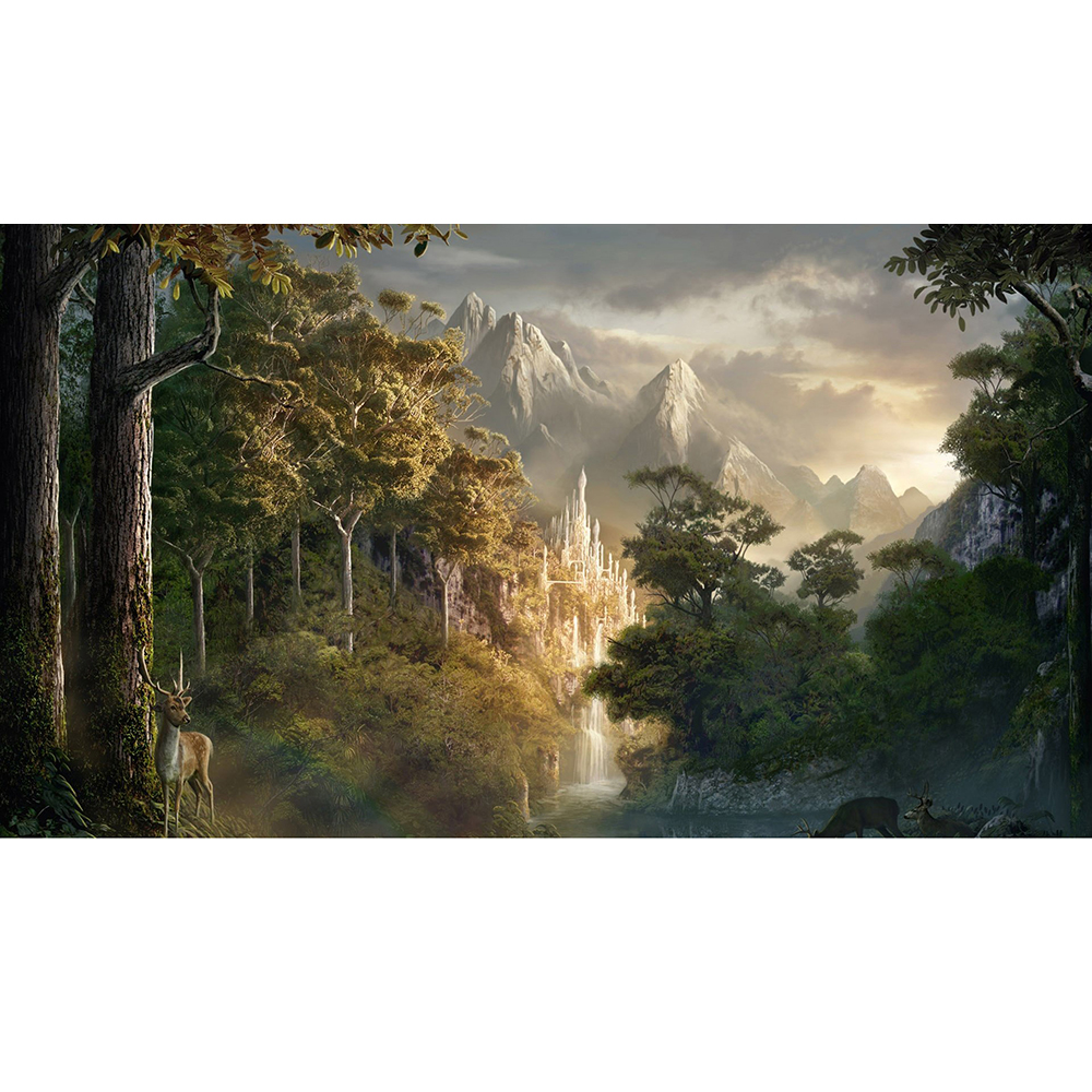 ( Forest )Limited Edition 35X60CM MGT Game Playmat MGT Cards Game Playmat Can be Custom Printe