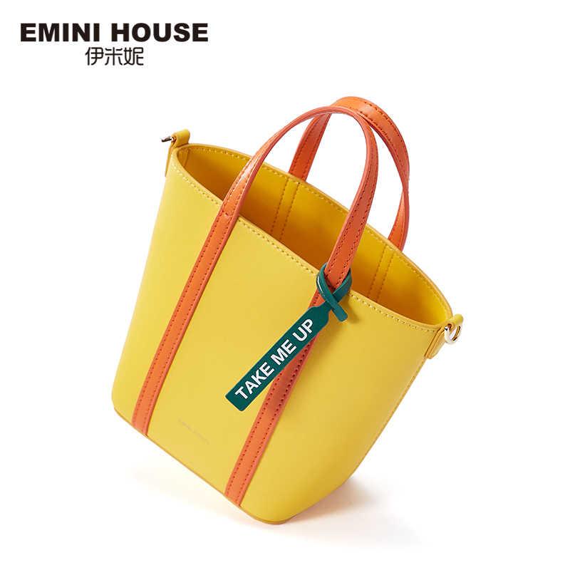 Mini casa microfibra de couro sintético mini bolsa bolsas de luxo bolsas femininas designer crossbody sacos para mulheres bolsa de ombro