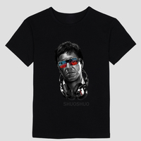 Chất Lượng cao Nổi Tiếng Movie Scarface T Áo Sơ Mi Nam Tony Montana T-Shirt Short Sleeve O C