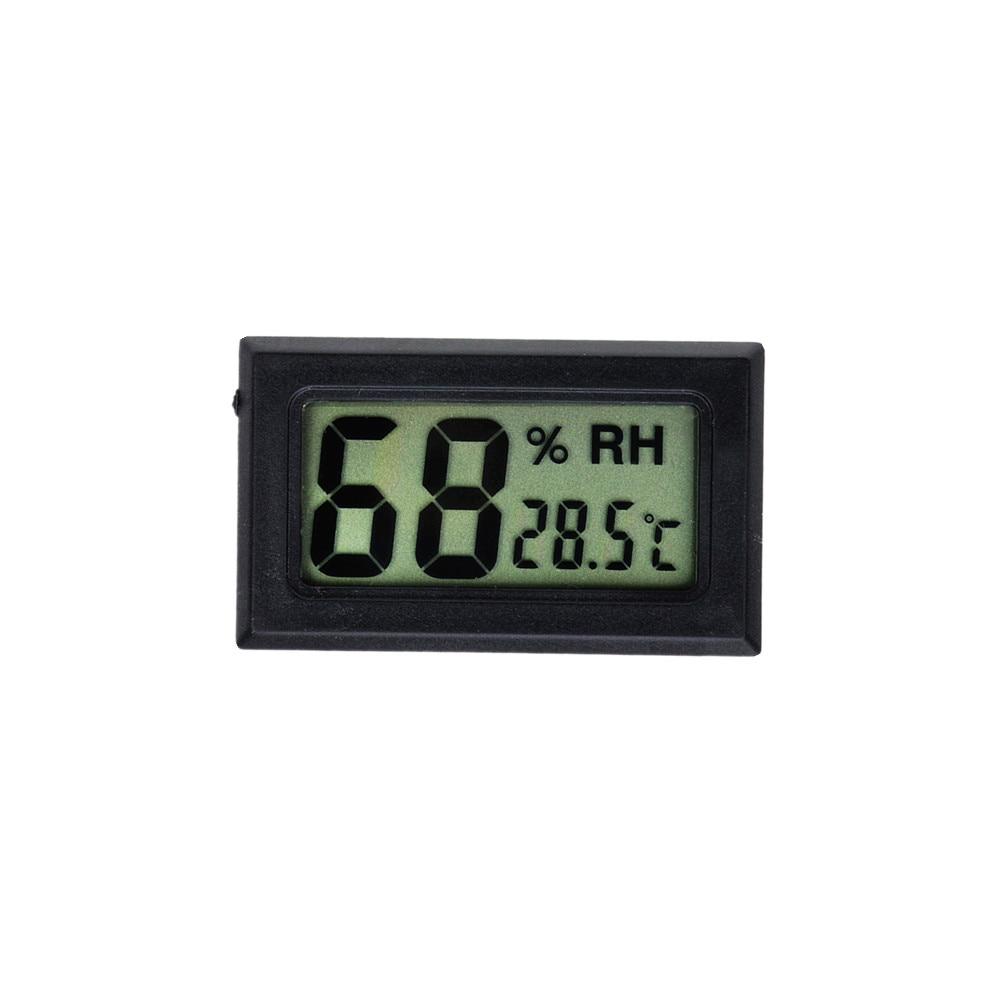 1M Mini LCD Display Meter Cyfrowy termometr z czarnym czujnikiem / - Przyrządy pomiarowe - Zdjęcie 5