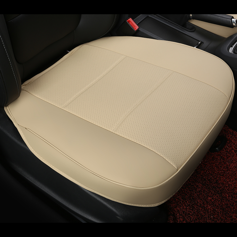 pu leather car seat pad, auto seat cushions, non slide car seat cushion pads, universal car accessories single seat covers