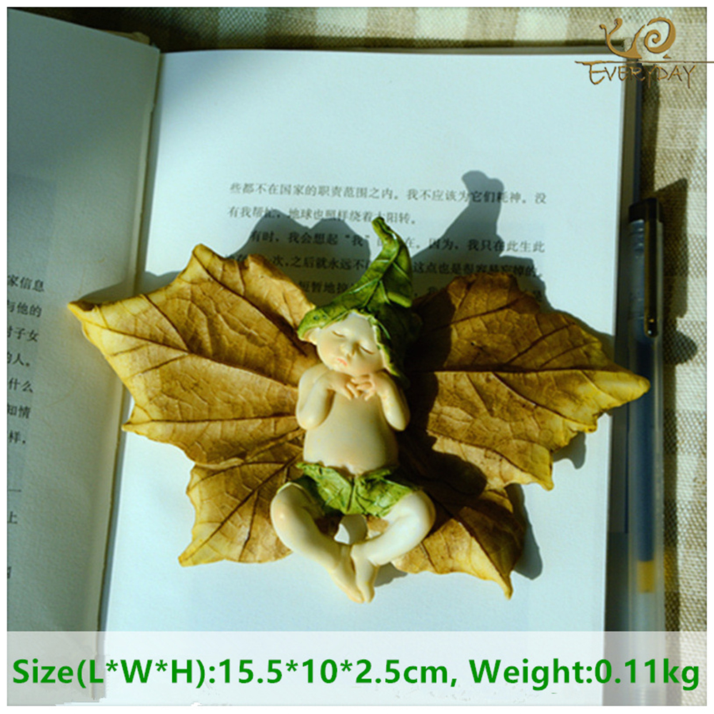 Tägliche Sammlung Engel Figur Miniatur Fee Garten Ornament Blatt - Wohnkultur - Foto 3