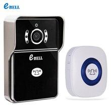 Ebell ATZ-DBV04P-433MHz-800 doorbell Wifi  Lock IP65 waterproof Video Door Phone Outdoor Monitor Intercom Doorbell with 7