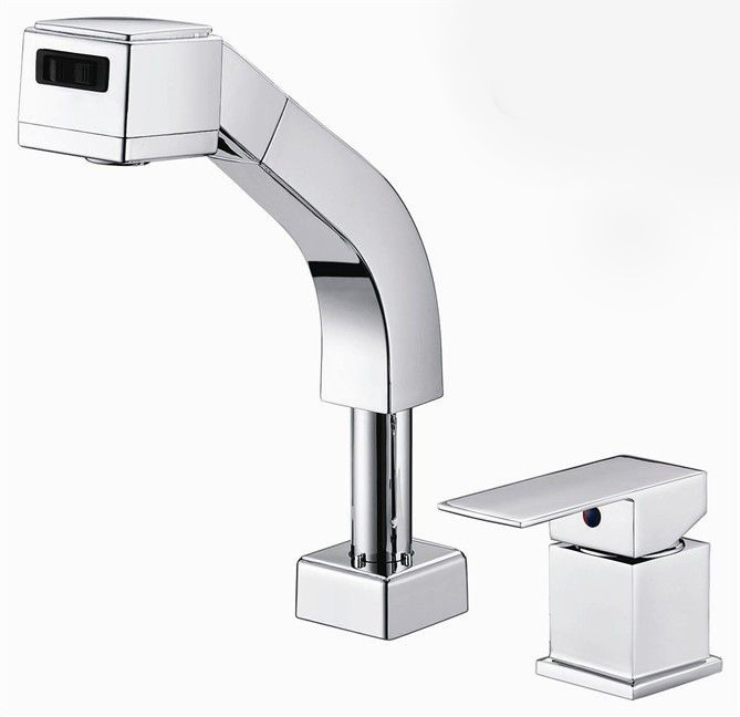 Free shipping Pull out faucet Polished Chrome Bathroom Faucet.Basin sink Mixer Tap.Torneira Banheiro BF031 free shipping free shipping pull out faucet polished chrome bathroom faucet basin sink mixer tap torneira banheiro bf031