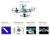 RC Quadcopter Helicóptero de Controle Remoto de Rádio de 2.4 GHz 4CH 6 Eixo giroscópio zangão com modo headless dron toys presente de natal para crianças