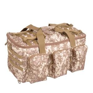 Image 5 - 야외 하이킹 배낭 55L 군사 팬 가방 캠핑 다목적 배낭 낚시 전술 휴대용 어깨 대용량