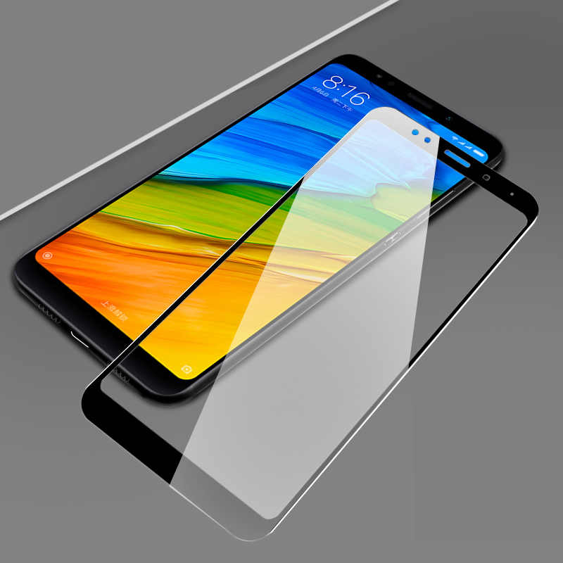 3D-Tempered-Glass-For-Xiaomi-Redmi-5-Full-Screen-Cover-Explosion-proof-Screen-Protector-Film-For
