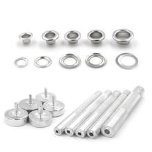 rivet. Button. Clothing & Accessories. Sewing repair. Metal pores. Eyelets installation tool. dies. Eyelet tool.Metal