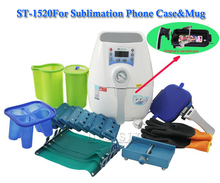 Mini 3D Heat Transfer Machine ST 1520 3D Sublimation Vacuum Machine Heat Press Machine For Mug