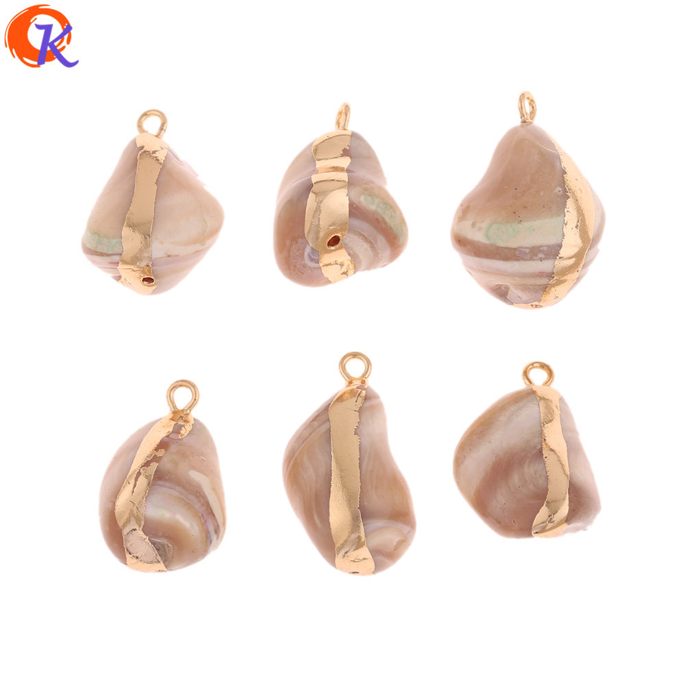 Cordial Design 13*26MM 20Pcs Jewelry Accessories/DIY Making/Natural Shell/Irregular Shape/Hand Made/Pendant/Earring Findings
