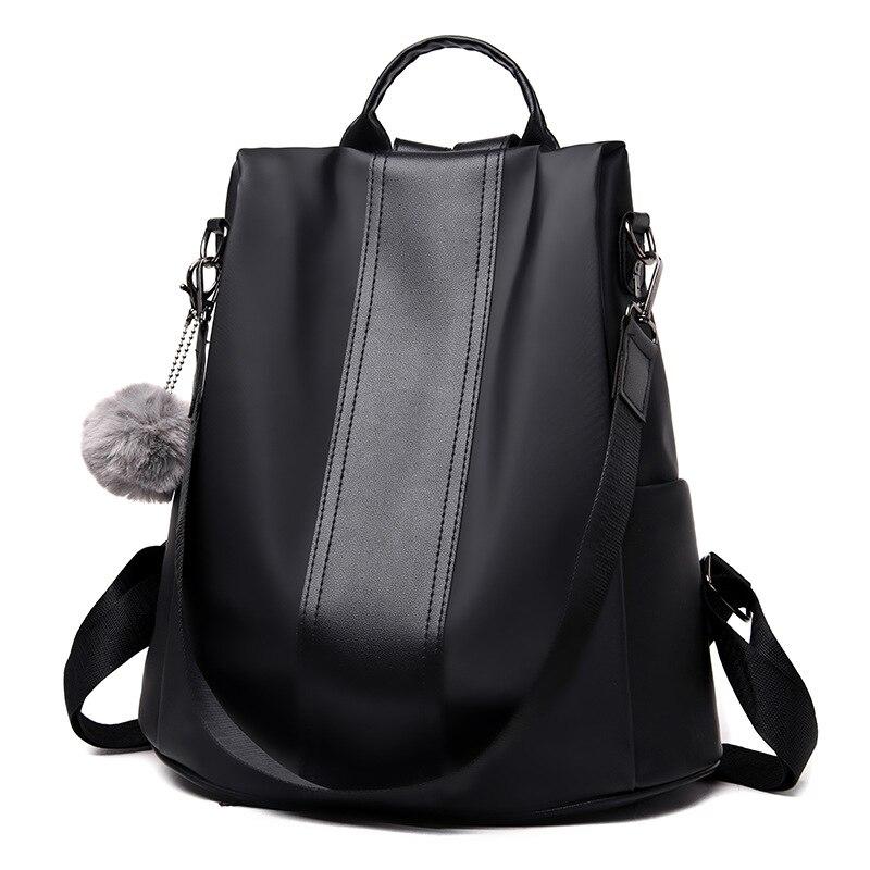 Image 4 - Waterproof Casual Women Backpack Purse Anti theft Rucksack Mochila Feminina Lightweight School Shoulder Bag for Teenagers Girls-in Backpacks from Luggage & Bags