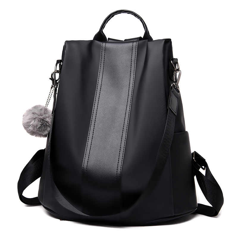 ... Waterproof Casual Women Backpack Purse Anti-theft Rucksack Mochila  Feminina Lightweight School Shoulder Bag for ... 5be57241d035d