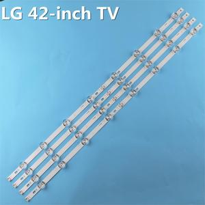 Image 3 - חדש ערכת 8pcs LED רצועת החלפה עבור LG LC420DUE 42LB5500 42LB5800 42LB560 INNOTEK DRT 3.0 42 אינץ ב 6916L 1710B 6916L 1709B