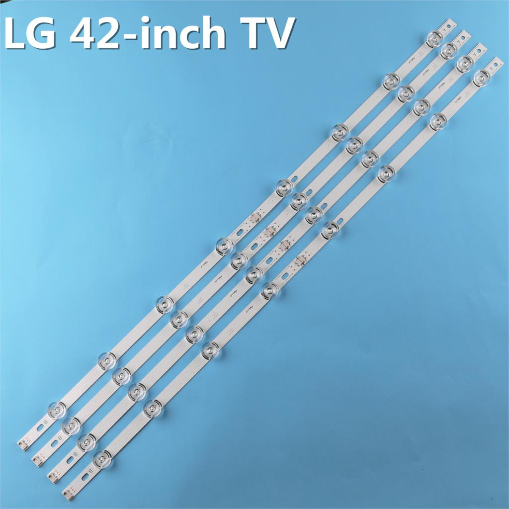 Image 3 - New Kit 8pcs LED strip Replacement for LG LC420DUE 42LB5500 42LB5800 42LB560 INNOTEK DRT 3.0 42 inch A B 6916L 1710B 6916L 1709B-in Light Beads from Lights & Lighting