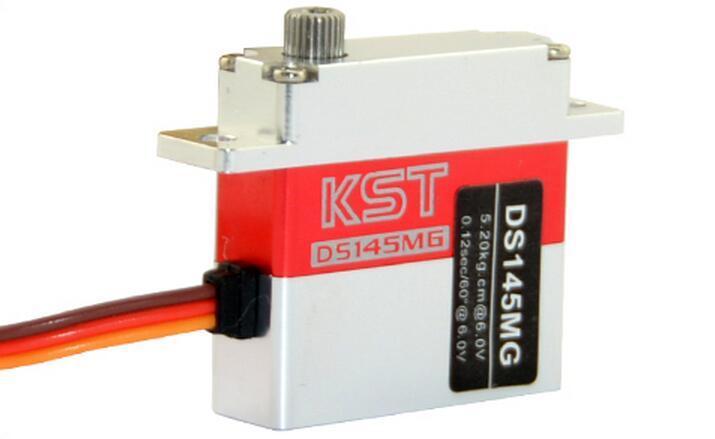 KST DS145MG цифровой сервопривод крыла для планера, с высокой точностью metal gear