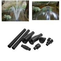 Juego de boquillas de bomba de fuente de 8 uds  cabezal de pulverización de plástico multifunción para jardín y Cascada  bomba sumergible para estanque y piscina|Fuentes y bañeras de pájaros| |  -