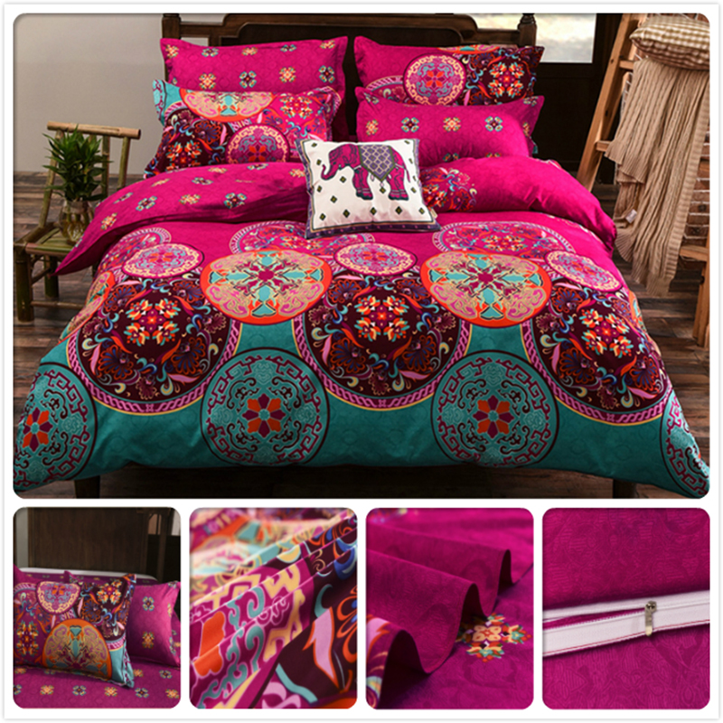 Europe Size King Queen Twin Double Single Duvet Cover Pillowcase 2/3/4 pcs Bedding Set 1.5m 1.8m 2m Bedsheet US Bed Linens UK JP