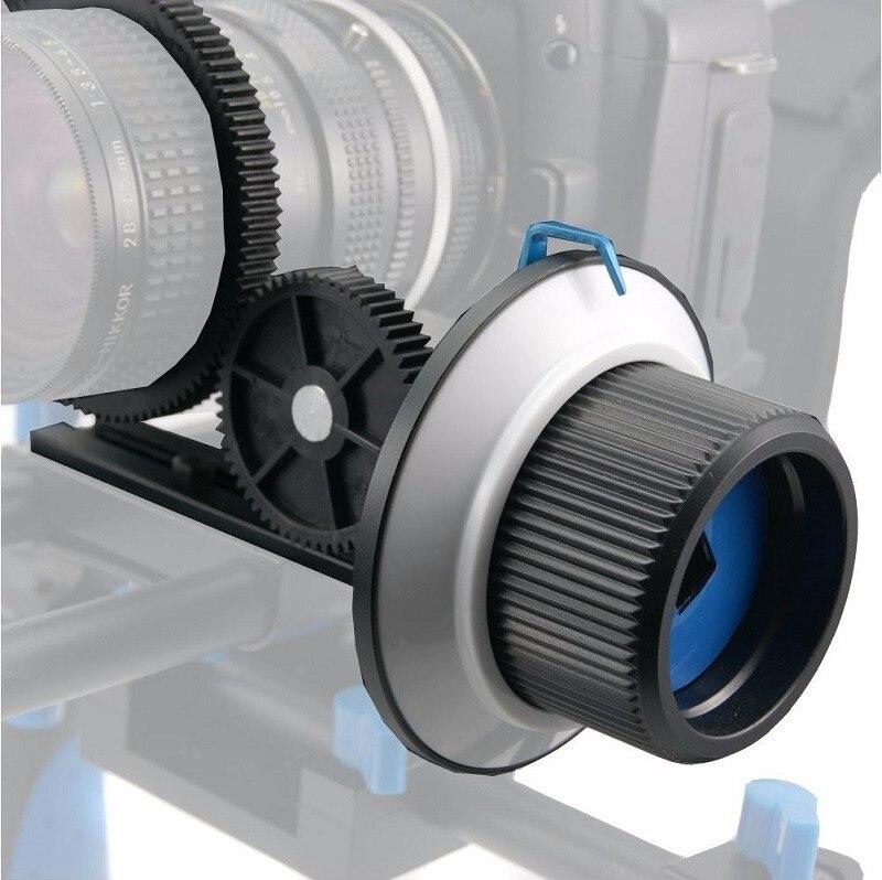 Mcoplus mise au point précise suivre Focus F1 avec courroie dentée pour Canon Nikon Sony Len 70D 60D D3100 DSLR appareil photo et caméscope