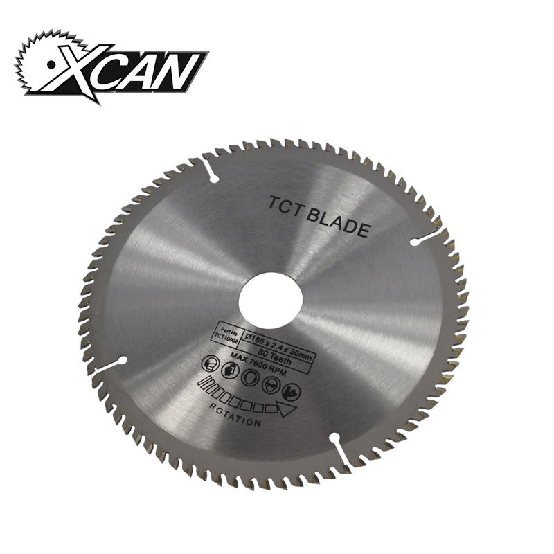 цена на 1 Piece Diameter 185mm Teeth 80Z Wood Circular Saw Blade TCT Saw Blade Mulitpurpose Woodworking