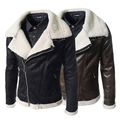 Hot Sale Leather Jacket Men Jaqueta De Couro Masculina Korea Fashion Slim Fit PU Leather Jacket