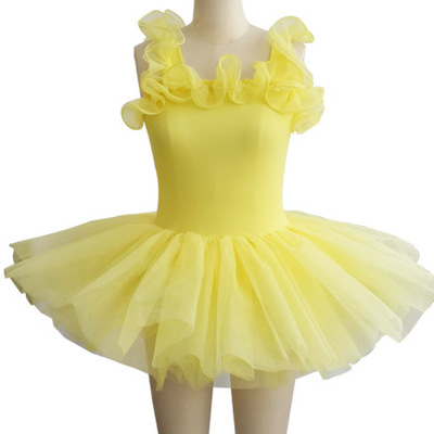 Girls Kids Dance Dress Ballet Tutu Dress Ballerina Dress Kids Ballet Dress Children Professional Ballet Tutu Ballet Dance Wear