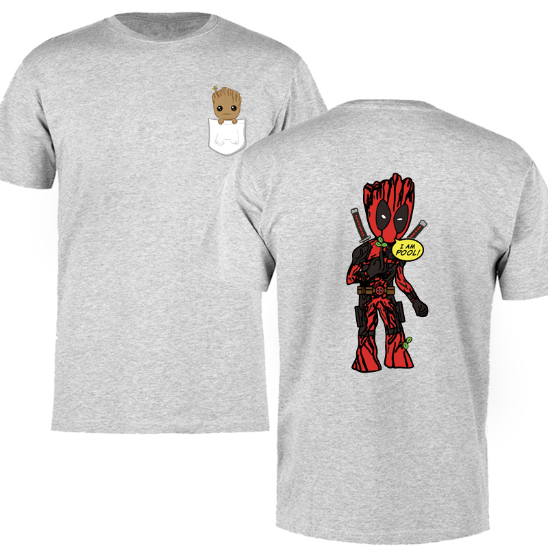 Superhero Mashup Marvellous adult t shirt
