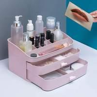1PC Multi layers Drawer type Makeup Organizer Box Brush Holder Jewelry Organizer Case Jewelry Makeup Cosmetic Storage Box Pro
