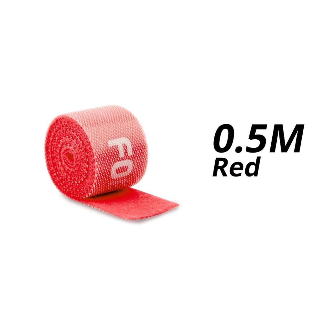 0.5m Red Velcro