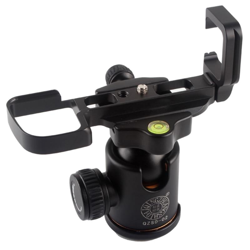 PULUZ XT2 Aluminium Alloy Camera Bracket Grip Holder Quick Release L Plate for RRS Arca-Swiss Kirk Benro DSLR Camera Accessories