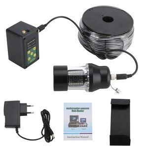 Image 5 - 9 Inch DVR Recorder Underwater Fishing Video Camera Fish Finder IP68 Waterproof 38 LEDs 360 Degree Rotating Camera 50M 100M