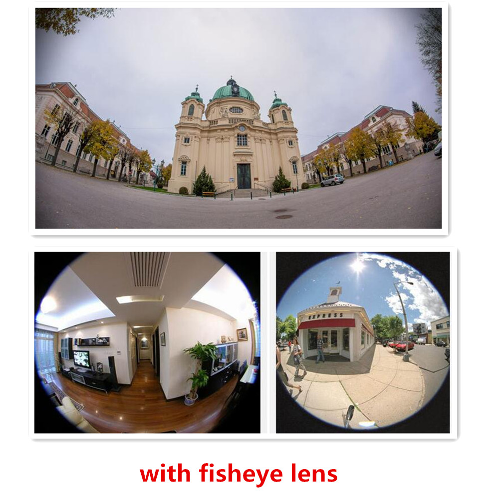 PHOLES 3 in 1 Phone Camera Lens Kit 160 Degree Fisheye Lens + 110 Degree Wide Angle + 10x Macro Lens for iPhone 7plus with Case 9