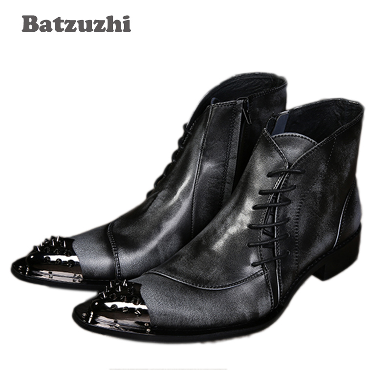 New Arrival Luxury High Mens Leisure Leather Shoes Fashion Designer - Men's Shoes
