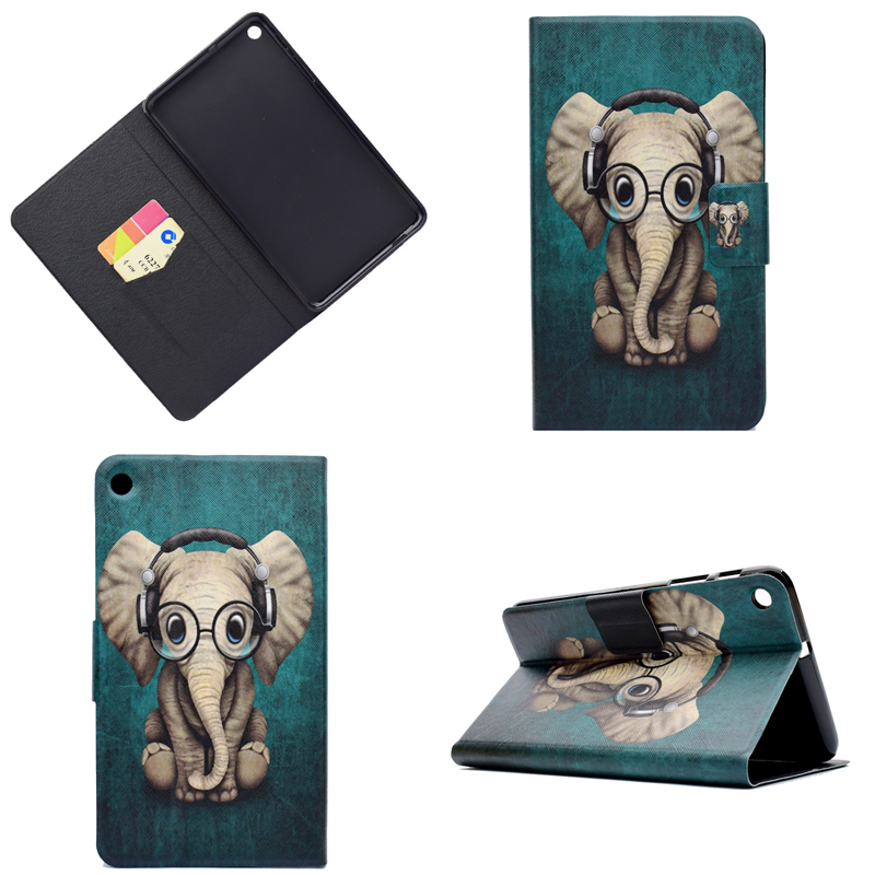 Soft TPU Case For Huawei Mediapad T1 7 T1-701U PU Leather Cover For Huawei T1 7.0 T1-701 7 Inch Bag Pouch With Card Holder Slot