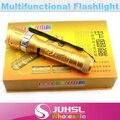 Водонепроницаемый, высокое качество CREE чип, 5 Вт 18650 литиевая батарея + СВЕТОДИОДНЫЙ Фонарик + Автомобильное Зарядное Устройство + прямой зарядки, Кемпинг фонари, Фонарик
