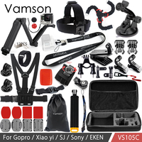 Vamson For Gopro Accessories Kit 3 Way Monopod Neck Strap Lanyard Sling For Gopro Hero 6
