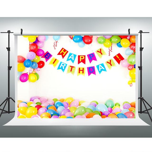 Kinder Hintergrund Farbe Ballon Photo Booth Hintergrund Happy ...