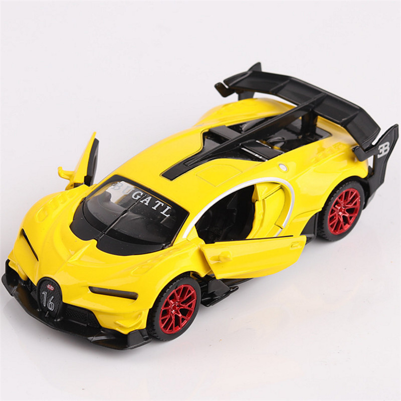 1:32 Toy Car Bugatti GT Metal Toy Toy Alloy Car Diecasts & Toy Fordon - Bilar och fordon - Foto 4