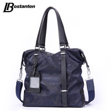 BOSTANTEN New Canvas Men Crossbody Bags High Quality Camouflage Men Handbag Leisure Bag Causal Male Shoulder Totes Bags Designer(China)