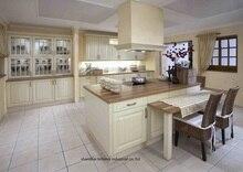PVC/vinyl kitchen cabinet(LH-PV067)