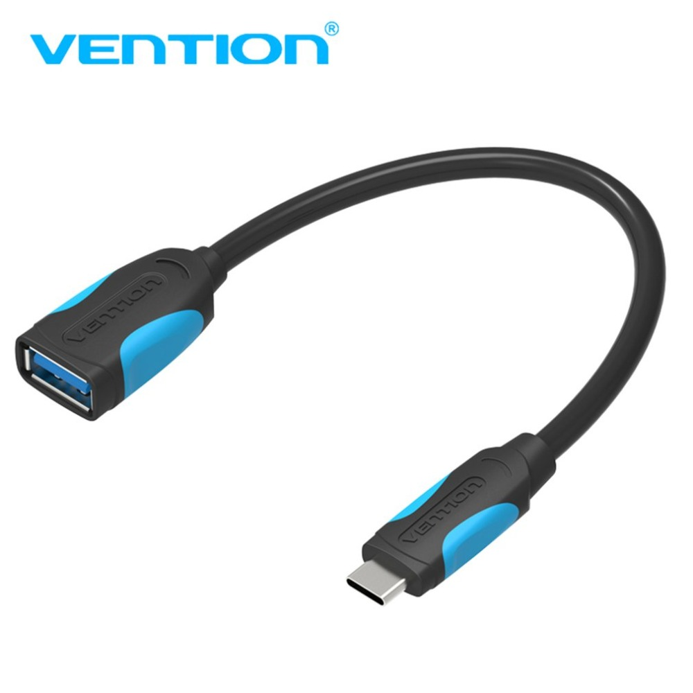 Vention A51 Standard Female USB 3.0 To Male Type-C Fast Speed OTG Data Sync Charger Cable For Mobile Phone PC Plug And Play