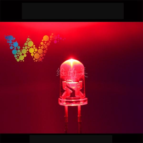 Shenzhen LED Manufacturer Sales Traffic Light Emitting Diodes Red Color Small LED