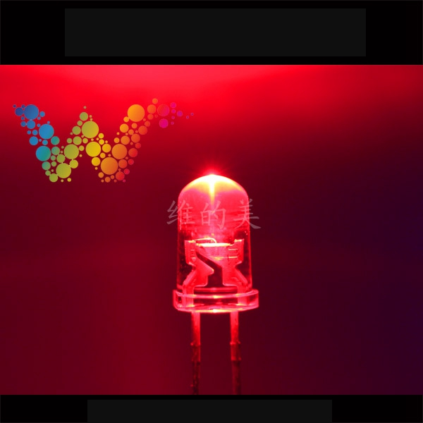 Shenzhen LED Manufacturer Sales Traffic Light Emitting Diodes Red Color Small LED