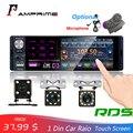 Автомагнитола AMPrime 1din, 4,1 дюйма, Bluetooth, стерео, мультимедийный плеер MP5, RDS, Sd, USB, сенсорный экран, автоаудио с тыловой камерой
