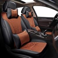 New Custom auto Car seat covers For Nissan altima Murano Sentra Sylphy patrol pathfinder almera classic g15 n16 bluebird cefiro