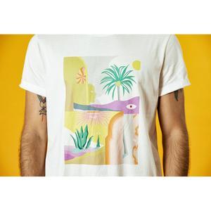 Image 2 - SIMWOOD 2020 summer new t shir tmen vacation beach top high quality casual tees 100% breathable tshirt brand clothing 190344