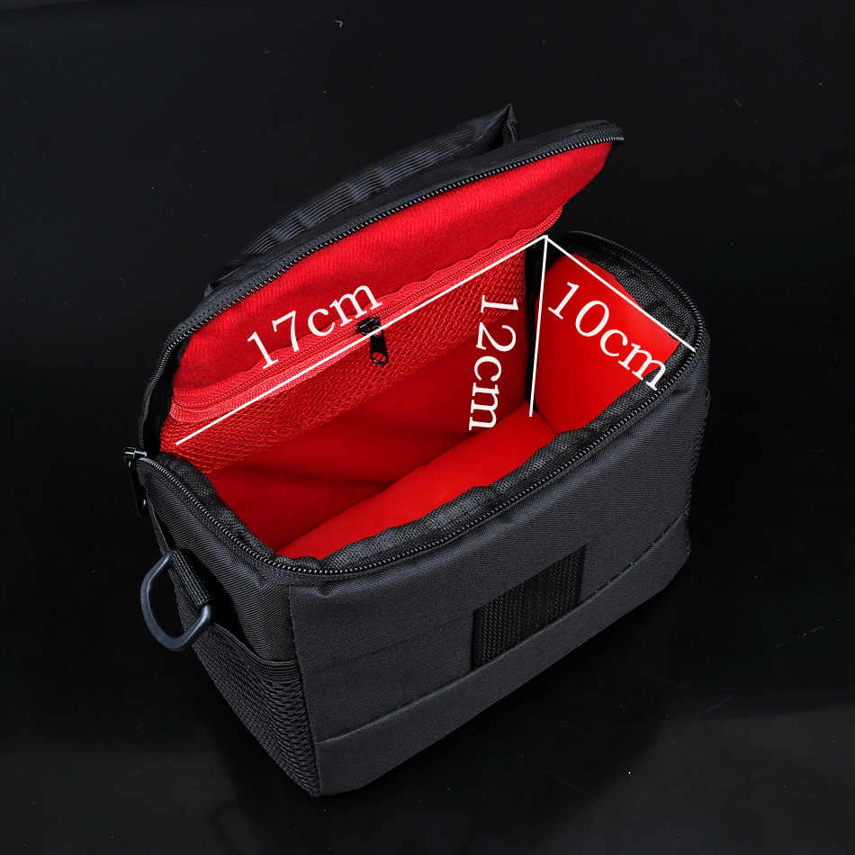 Caso Bolsa de câmera para Panasonic Lumix LX100 LX10 LX15 TZ90 TZ72 FZ60 FZ70 FZ80 FZ100 FZ200 FZ150 FZ1000 FZ300 GH5S GH5 GH3 GH4