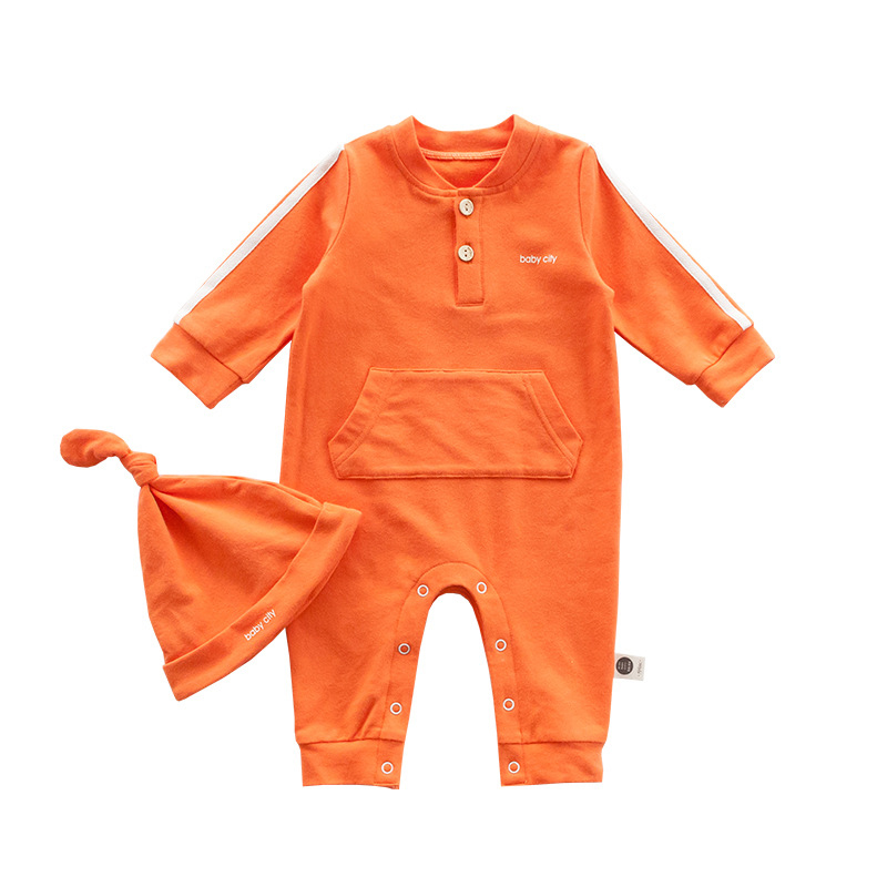 9ee045460f9de 2018 Autumn Newborn Baby Clothes Baby Romper Infant Boys Girls Long ...