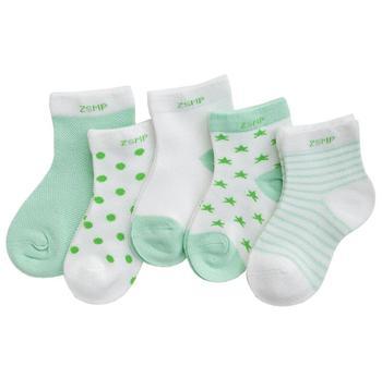 0-3Y 5 Pairs/lot Infant Baby Socks Cute Summer Breathable Mesh Sock Cotton Newborn Boys Girls Short Socks - C, 24M