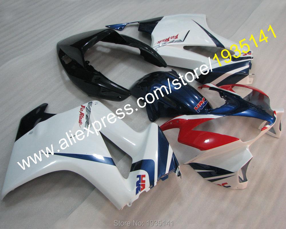 Горячие продаж,популярные мотоцикл комплект для Honda ПВП 800 VFR800 2002-2012 02-12 спортбайк тела работы обтекатель комплект (литья под давлением)