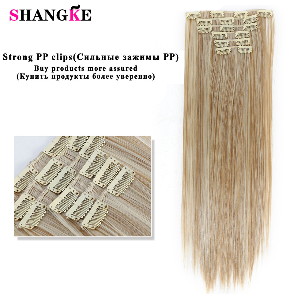 Pieces Hair Extensions Clips